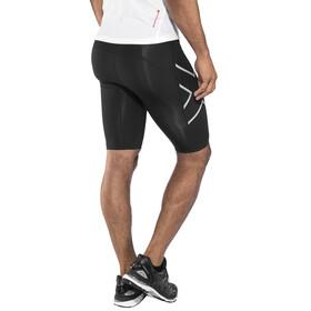 2XU Run Compression Shorts Men Black/Silver Reflective